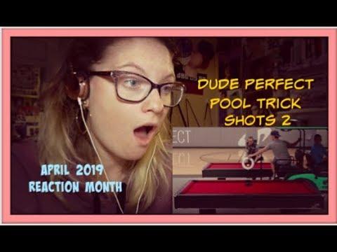 April 2019 Reaction Month D13: Dude Perfect: Pool Trick Shots 2