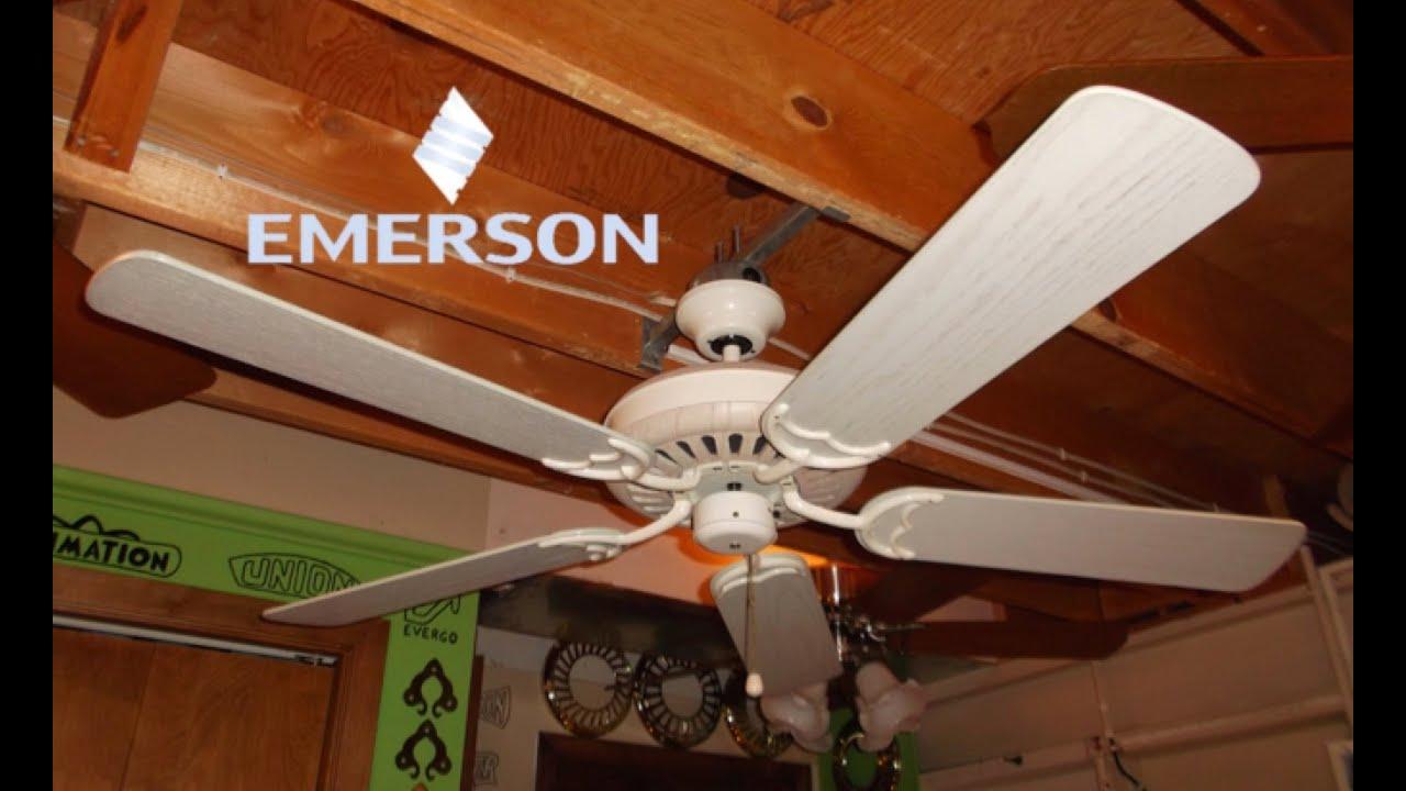 Emerson Hardwood Ceiling Fan (HD Remake)   YouTube