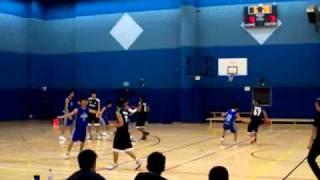 男子籃球準決賽:教院 VS 城大 20101024
