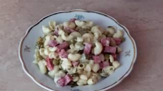 Готовлю на скорую руку: салат с макаронами
