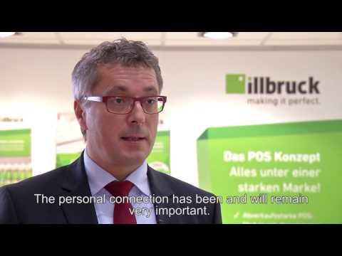BAU 2017: Reiner Eisenhut, CEO und Managing Director der tremco illbruck Group, von der BAU
