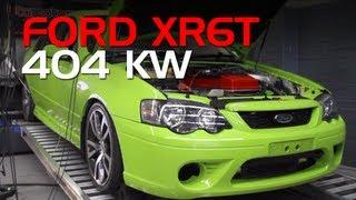 ford falcon bf xr6 turbo with bta custom tune 404kw at the wheels