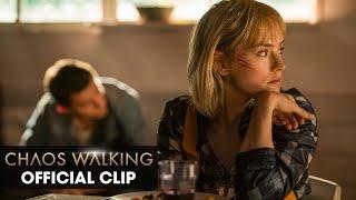 "Chaos Walking (2021 Movie) Official Clip ""Haven"" – Tom Holland, Daisy Ridley, Cynthia Erivo"