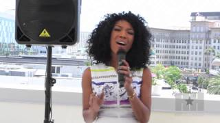 Raw Video: Brandy Performs