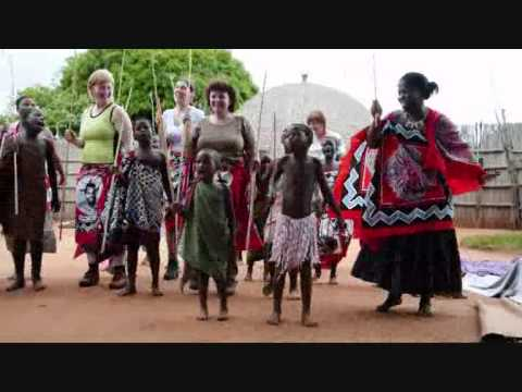 Swaziland native village