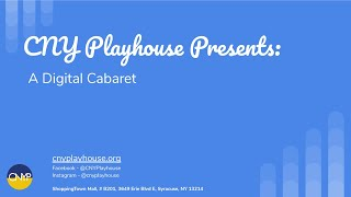 CNY Playhouse - Summer Cabaret - New Musical Theatre