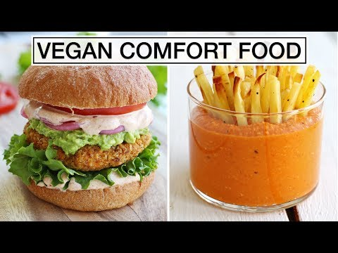 VEGAN COMFORT FOOD | 3 Yummy Fall Recipes