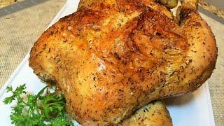 Курица запеченная в духовке от Вэйна. Самый простой рецепт. Очень вкусно!Сhicken baked in the oven.