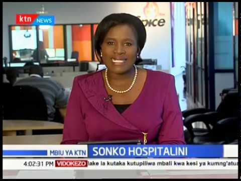 Sonko alazwa katika hospitali ya Kenyatta baada ya kuugua usiku wa kuamkia leo | MBIU YA KTN