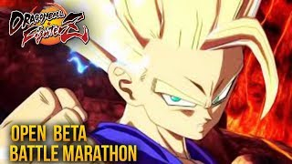 Video Dragon Ball FighterZ OPEN BETA BATTLE MARATHON LIVE! 2 (DragonBall Z FIGHTER Z GAMEPLAY) download MP3, 3GP, MP4, WEBM, AVI, FLV Januari 2018