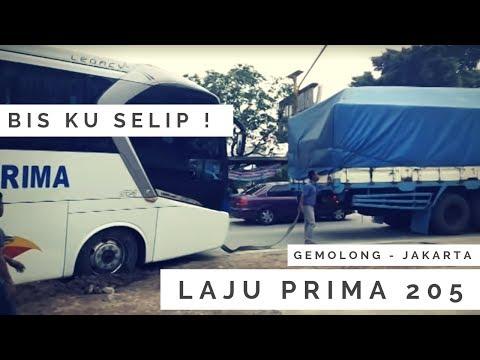 #Bus Accident - BUS LAJU PRIMA SELIP !