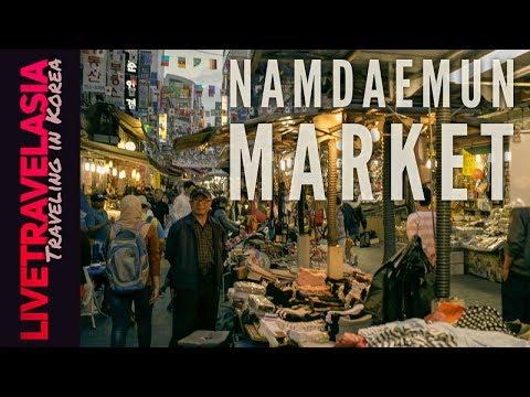 Namdaemun Market, Avoid Streetfood Food Poisoning, Buy a Pair of Glasses, Honest Guide in 4K UHD