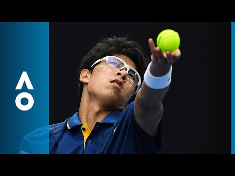 Hyeon Chung v Alexander Zverev match highlights (3R) | Australian Open 2018
