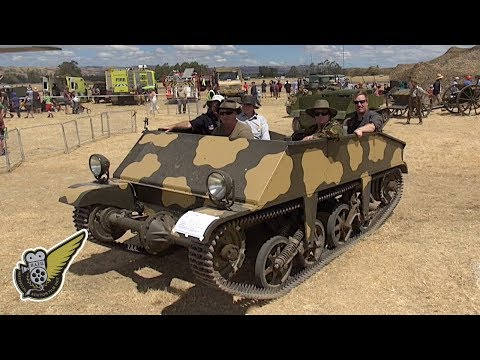 Loyd Carrier - A WW2 Tracked Personnel Carrier