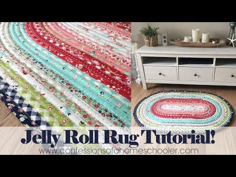 Official Jelly Roll Rug Tutorial - YouTube