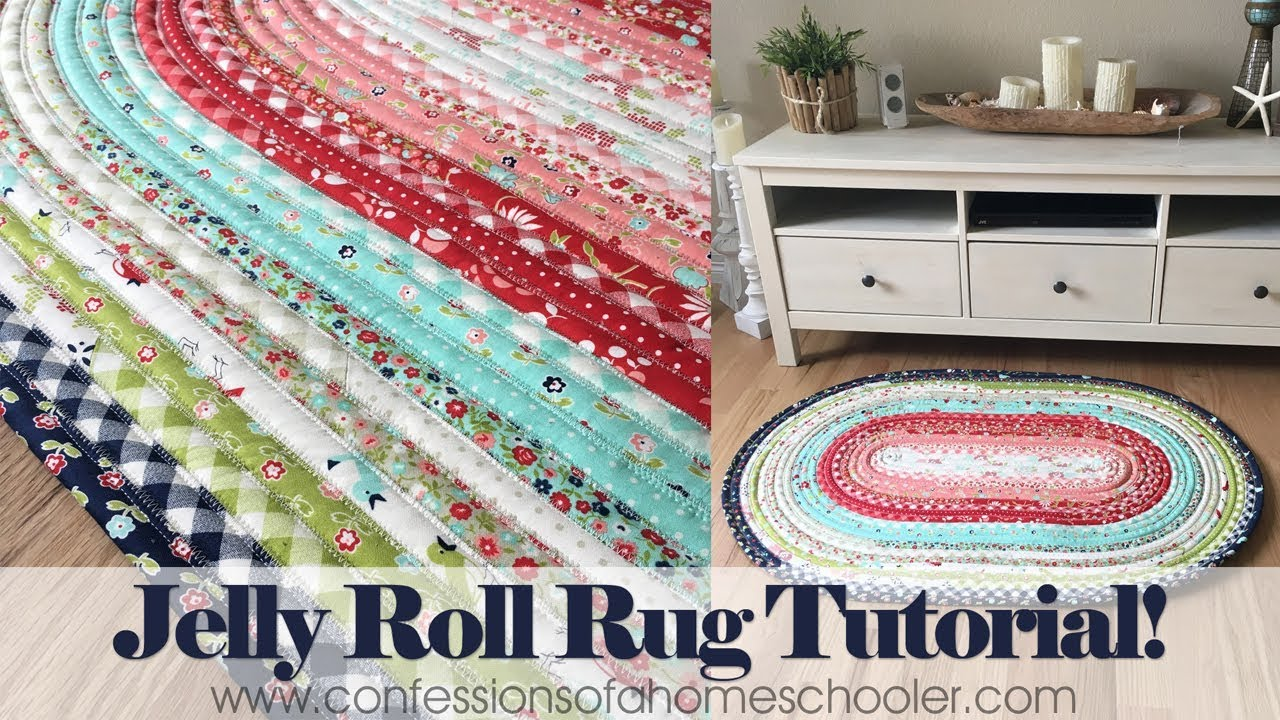 Official Jelly Roll Rug Tutorial Youtube