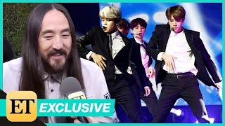 2018 Latin AMAs: Steve Aoki Says New BTS Song Release Is 'Absolutely Wild' (Exclusive)
