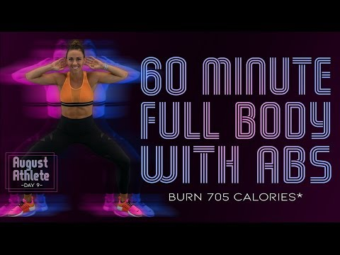 60 Minute FULL BODY WORKOUT WITH ABS! No Equipment Needed! 🔥Burn 705 Calories!* 🔥Sydney Cummings