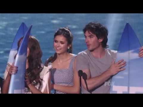 Teen choice awards 2011  The vampire diaries cast