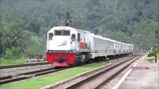 [kompilasi] Kereta Api di Stasiun Karanggandul