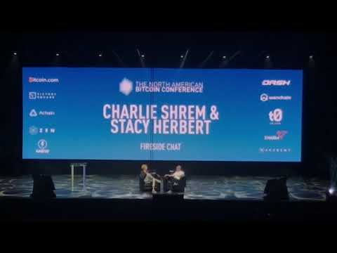 Stacy Herbert interviews Charlie Shrem Part 1/2 @ The North American Bitcoin Conference 2018 !