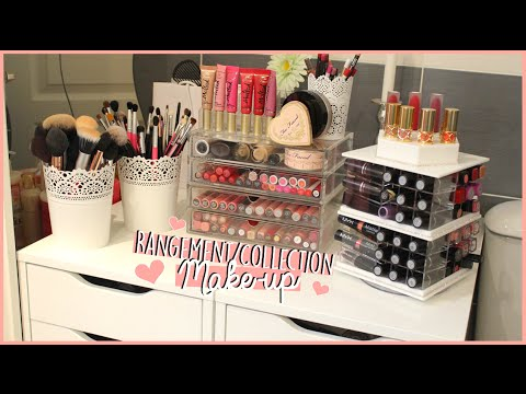 rangement organisation make up youtube. Black Bedroom Furniture Sets. Home Design Ideas