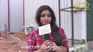 Athmiya At Kaaviyan Movie Shooting Spot