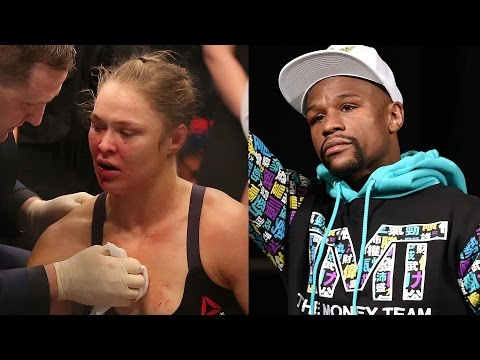 Floyd Mayweather Comments on Ronda Rousey's UFC 193 Loss to Holly Holm