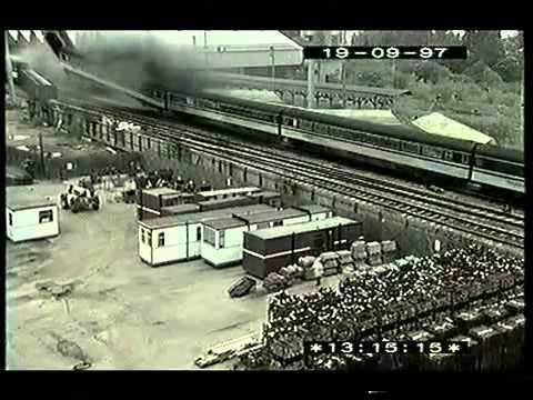 Train Crash Southall 1997 CCTV Footage of Crash