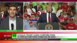 Trump anuncia su candidatura para un segundo mandato presidencial