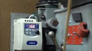 MACHINE SHOP TIPS #139 Part 2 of 2 Installing a VFD on a Drill Press tubalcain