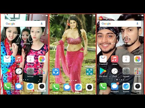 How to add video wallpaper in mobile home screen || apne mobile mein video wallpaper kaise set kare