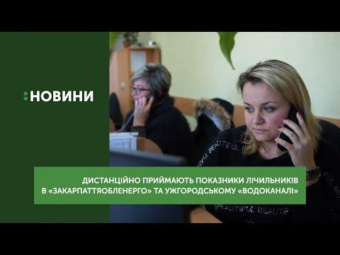 Дистанційно приймають показники лічильників у «Закарпаттяобленерго» та ужгородському «Водоканалі»