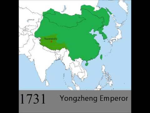 The Qing Empire - YouTube Qin Empire Map on