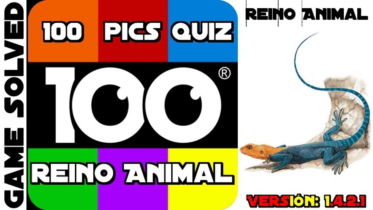 100 Pics Quiz | Paquete Reino Animal [Completo en Español]