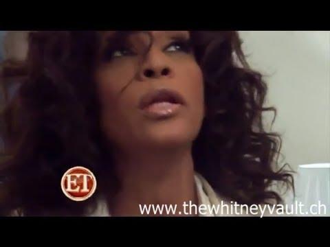 Rare Whitney Houston footage Photoshoot 2010