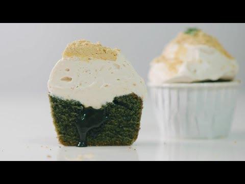 쑥 컵케이크 만들기 Mugwort Cupcakes Recipe   한세 HANSE