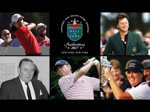 World Golf Hall of Fame Class of 2017 Induction Ceremony