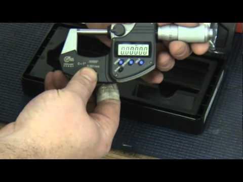 Mitutoyo IP65 Coolant Proof Digital Micrometer Review