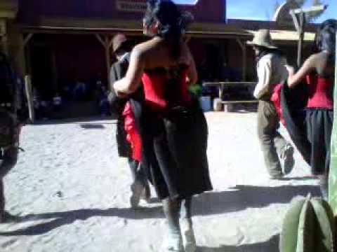 Baile del viejo oeste