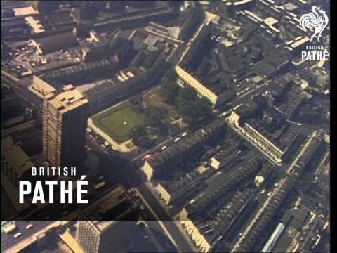 Aerial Views Thames - London (1970-1979)