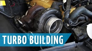 Turbo Bmw E30 Build: Part 11 | Welding, Clocking, Assembly Of Turbo