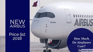 New Airbus aircraft list prices for 2018 : Jetline Marvel.