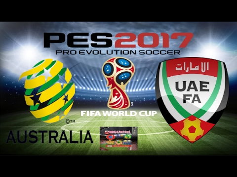 PS4 PES 2017 Gameplay Australia vs UAE HD