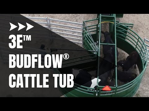 3E BudFlow® Cattle Tub | Cattle Equipment | Arrowquip