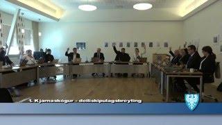 Fundur Bæjarstjórnar 17. maí 2016