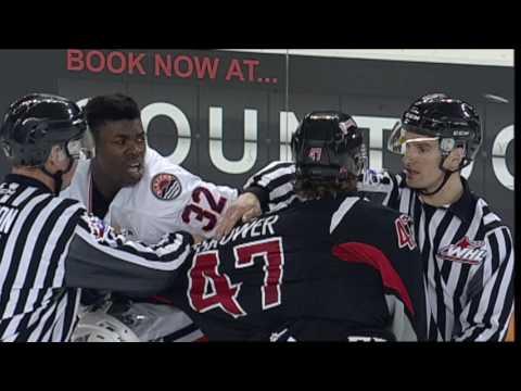 Moose Jaw Warriors vs Kamloops Blazers Jan 17, '17 WHL on Shaw