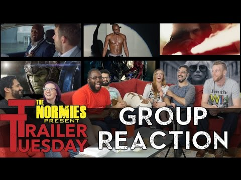 Trailer Tuesday! - Star Wars Episode 8, Thor 3: Ragnarok, Atomic Blonde - Group Reaction
