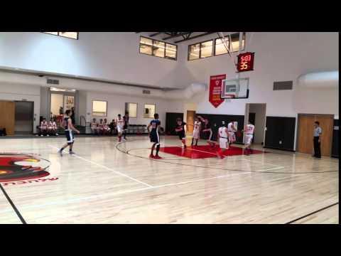 Crossroads Benjamin Terry Inbound Dime Assist vs Shalhevet School - 2016