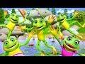 Five Little Speckled Frogs | Kindergarten Nursery Rhymes for Kids | Cartoon Song by Little Treehouse
